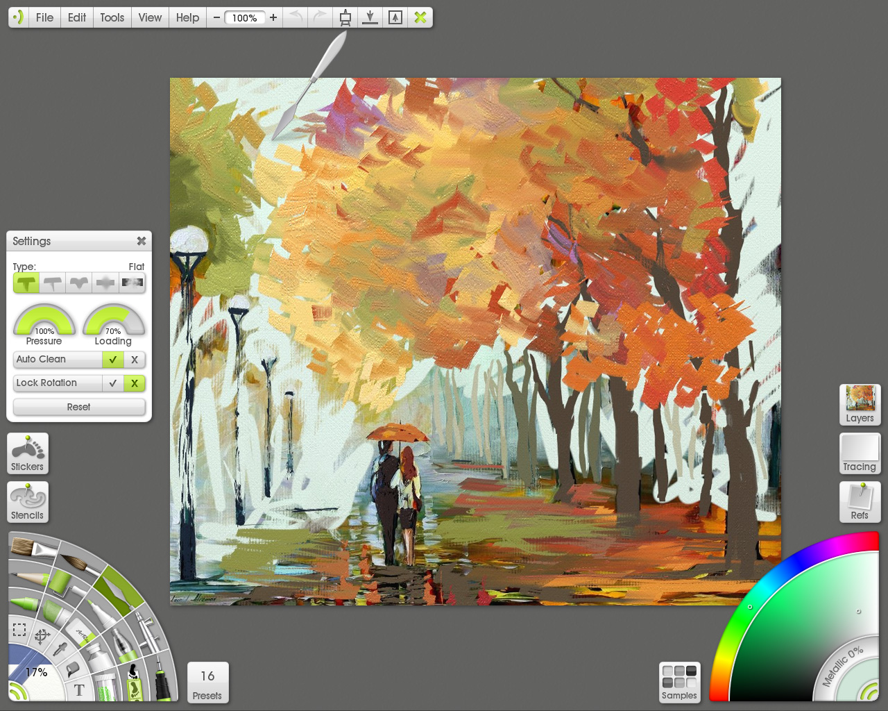 ArtRage Studio Pro 3.5 Knife Loaded Screen Shot