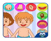 application apprendre parties corps enfants