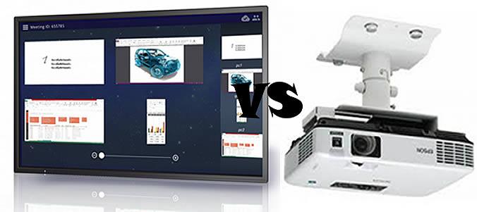 avantage écran interactif vidéoprojecteur