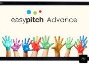 Ecran interactif Easypitch Advance 75-4K