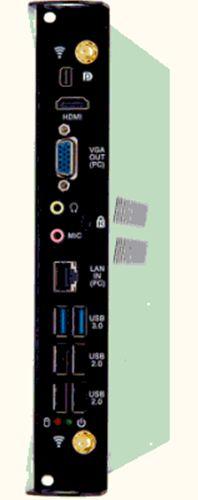 ordinateur d'un écran interactif