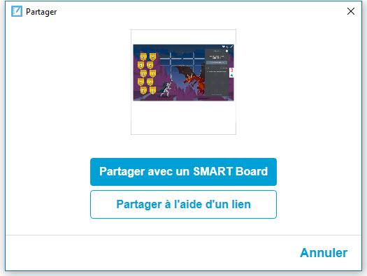 partage smart board