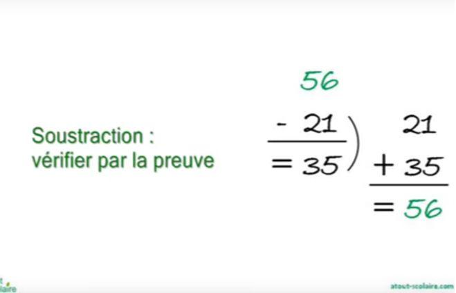 Mathématiques avec Youtube pour CE1 et CE2