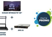 "Pack Silver écran interactif Easypitch PRO 65"""