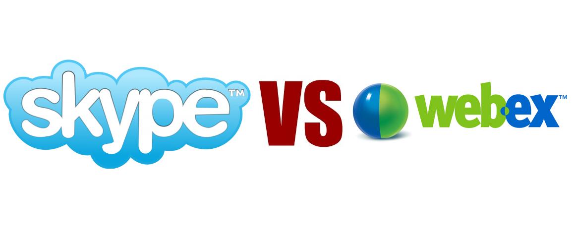 Skype VS Webex